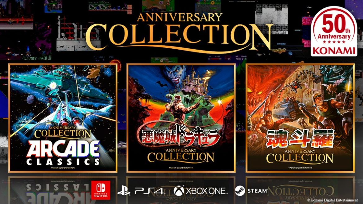 Konami anunció Contra       Anniversary Collection