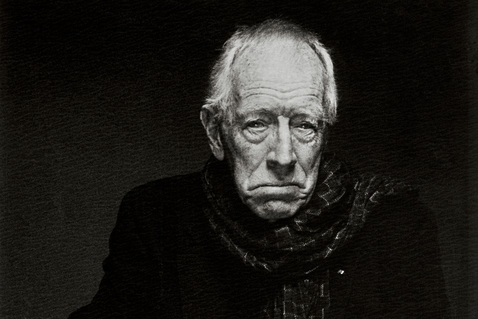 Muere el legendario actor Max von Sydow a los 90