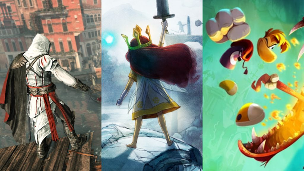 Ubisoft, Assassin's Creed 2, Child of Light, Rayman Legends