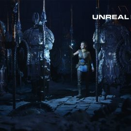 ¡Unreal Engine 5 presentado en un PS5!