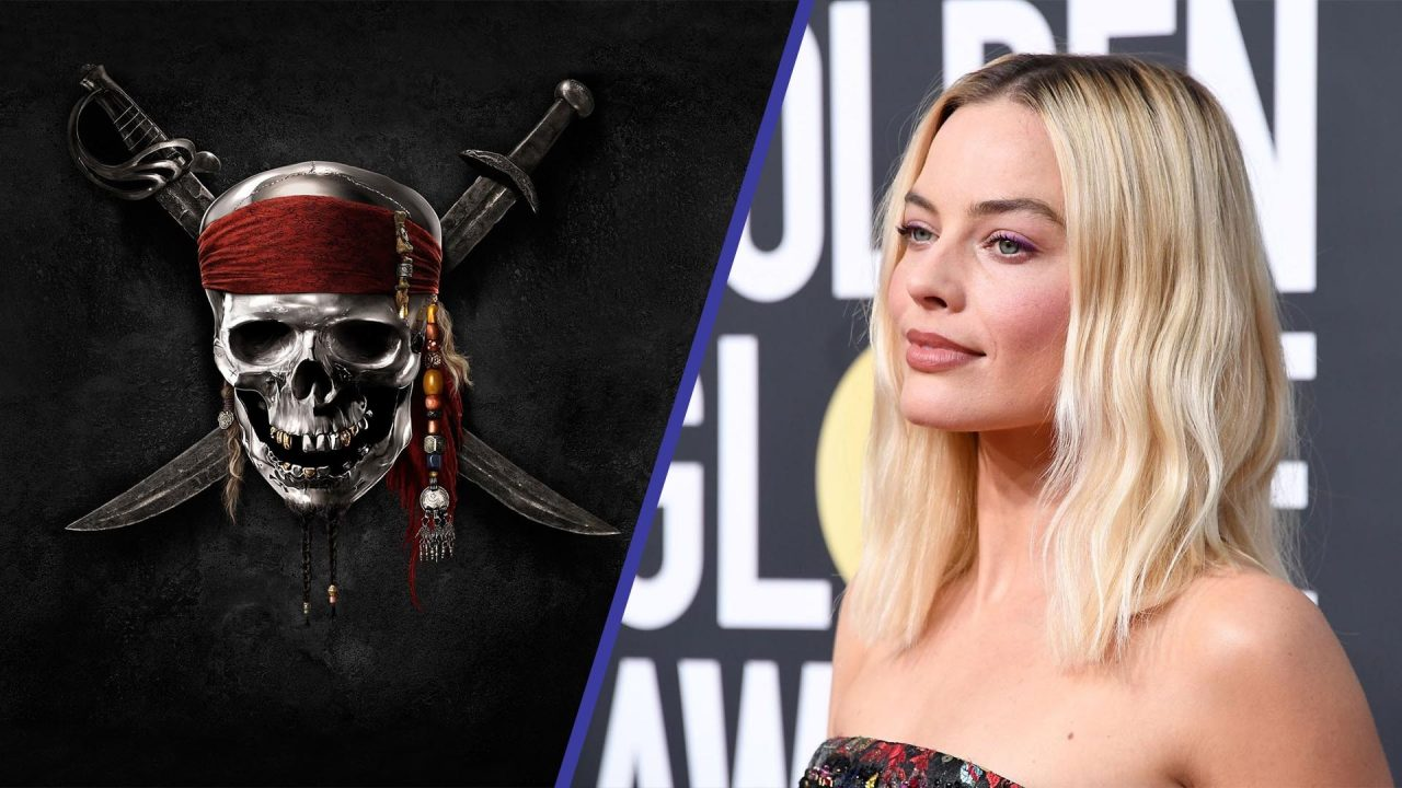 Margot Robbie piratas del caribe