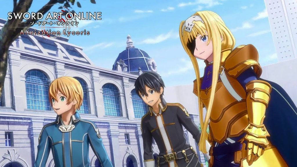 Alice, Eugeo y Kirito - SAO Alicization Lycoris.