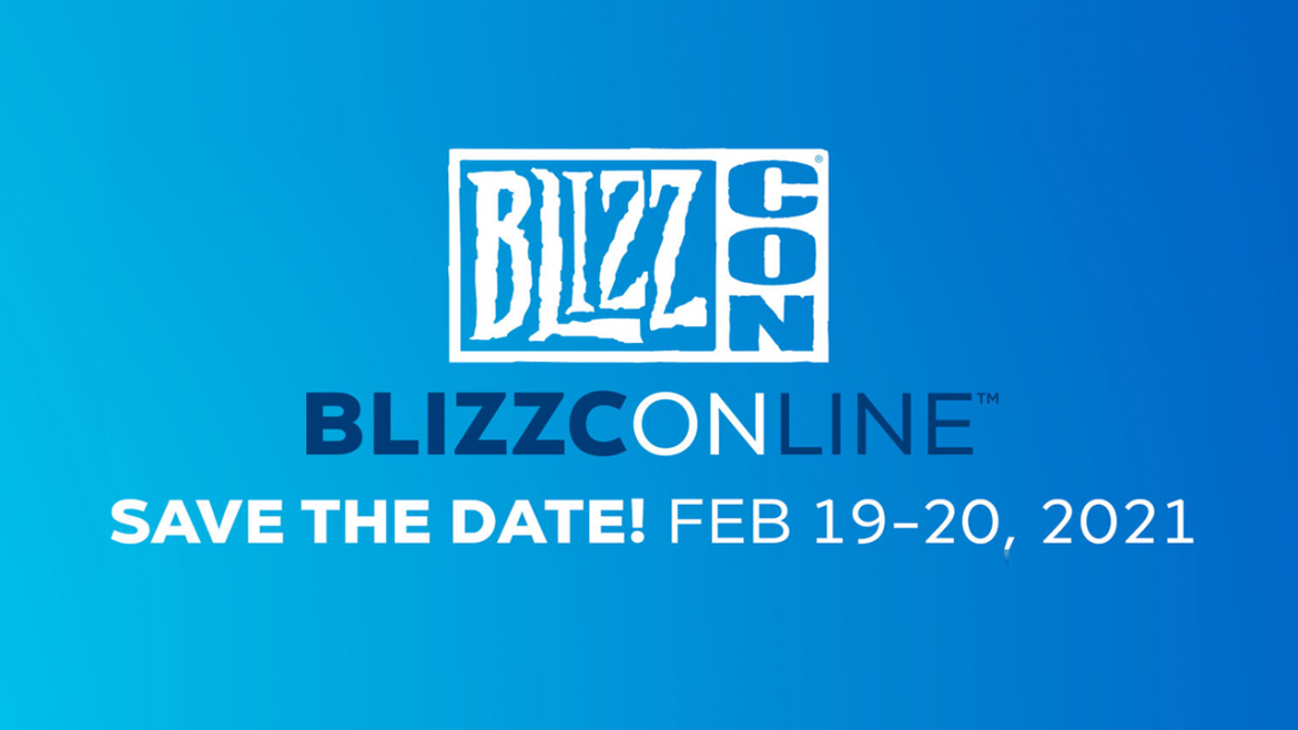 Blizzard anuncia Blizzcon virtual en febrero