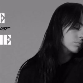 Billie Eilish estrena video de No Time To Die, la nueva película del 007