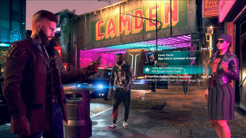 Noche en Londres - Watch Dogs Legion