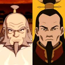 It's a shame we never got to see Iroh and Ozai share a scene together in  the show. It would be interesting to see how they would work off each other  :